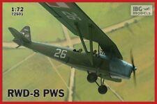 IBG 1/72 RWD-8 PWS Polonais entraîneur avion (militaire vérsion) # 72501