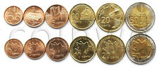 AZERBAIJAN 6 COINS SET 2006 UNC (#1023)