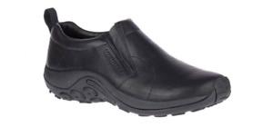 Merrell Jungle Moc Leather 2 Black Slip-On Shoe Loafer Men's sizes 7-15 NIB!!!