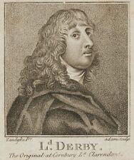 ADAM, nach Van Dyck, Porträt des James Stanley, 7. Earl of Derby (1607-1651)