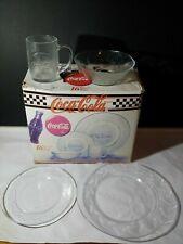 Coca Cola Brand 16 Piece Dinnerware Set (NEW)