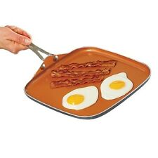 "Gotham Steel Ceramic Non-Stick Griddle 10.5"" - Brand New - Free Shipping!"