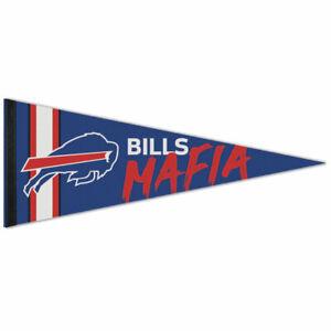 "BUFFALO BILLS MAFIA PREMIUM QUALITY PENNANT 12""X30"" BANNER NFL LICENSED"