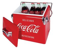 *Coca Cola Cooler Ice Chest Vintage Coke Stainless 13L*
