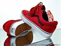VANS Old Skool (C&P) Racing Red/Black Skate Shoe Men & Women Multiple Sizes