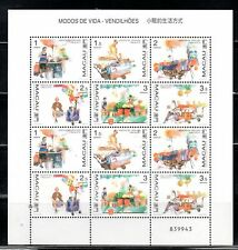 CHINA MACAU STAMPS MINT NEVER HINGED SOUVENIR SHEET    LOT  4508