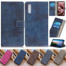 Retro Wallet Leather Flip Cover Case For Sony 2 5 1 II 10 II L3 L4 XZ3 10 Plus