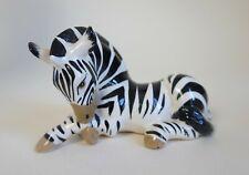 More details for vintage szeiler ceramic figure of a zebra