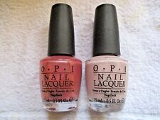 LOT OF 2  O*P*I*  NAIL LAQUER--COZU MELTED IN THE SUN & MY VERY FIRST KNOCKWURST