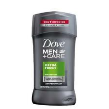 3 Pack Dove Men + Care Antiperspirant Stick, 48 Hour, Extra Fresh 2.7 oz Each