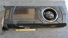 NVIDIA GTX Titan x 12gb ddr5 // Maxwell // DVI + HDMI + DP // senza imballaggio originale, accessori
