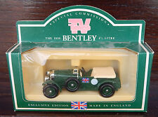 Lledo Days Gone TV Times The 1930 Bentley 4 1/2 Litre . Mint  Free P&P