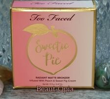 TOO FACED ♡ LIMITED EDITION Sweetie Pie Radiant Matte Bronzer NEW and Boxed BNIB