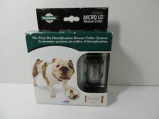 "NIB PetSafe Micro ID Rescue Collar Size LRG Neck up to 26"" USB ID Dog Collar"