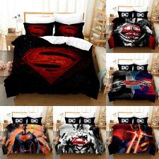 Superman Quilt Cover Bedding Set 3PCS Duvet Cover Pillowcase Comforter Cover