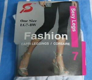 New Super Prima Opaque Ladies Stretchy Leggings Yoga Pants-Small to Medium