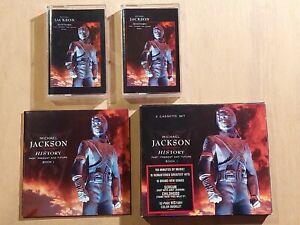 MICHAEL JACKSON - HISTORY - PAST, PRESENT AND FUTURE BOOK 1 CASSETTE BOX SET