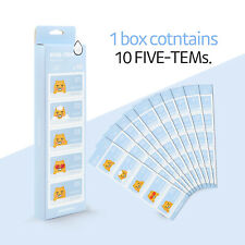 Kakao Friends Ryan Fivetem Facial care Moisture(10ea) Set Dry Skin Travel Kit