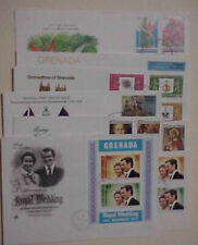 GRENADA FDC GRENADINES 8 DIFF. 1972-1981 INCLUDES SHEETLET CACHET,6 UNADRESSED