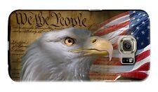 American Eagle Flag USA Samsung Galaxy S4 5 6 7 8 9 10 E Edge Note Plus Case 6