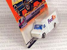 MB 2000 Logo Chase FedEx DELIVERY TRUCK White #100 Treasure Hunt MATCHBOX