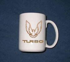 New 15 Oz. 1989 Pontiac Turbo Trans AM Logo mug