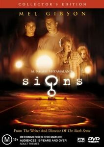 SIGNS starring Mel Gibson (DVD, 2003) - LIKE NEW!!!