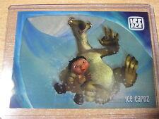 L'AGE DE GLACE ICE AGE RARE CARD IC5 CLEAR TRANSPARENT ICE CARDZ 2002 HERO
