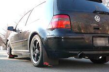 VW MK4 Rally Mud Flaps, RokBlokz, Golf, GTI, Jetta, R32, 1999-2004 Volkswagen