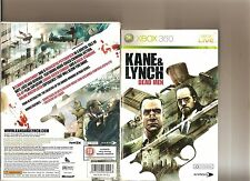 KANE AND LYNCH DEAD MEN LIMITED EDITION XBOX 360 / X BOX 360