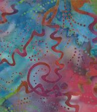 1 Half Metre Length Kapalua Batik - 4320 17 Rainbow