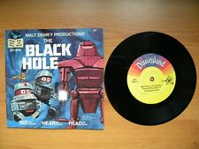 More details for the black hole disney read along 24 page book record vincent old bob maximillian