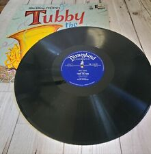 Walt Disney Stories & Songs From Tubby The Tuba / Sword In The Stone Vinyl LP