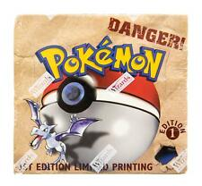 WOTC Pokemon Fossil 1st Edition Booster Box OUT OF PRINT COLLECTIBLE!!!