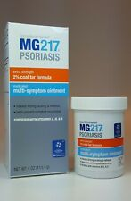 Mg217 Psoriasis Treatment Cream 2% Coal Tar Multi-Symptom Relief Ointment 4oz