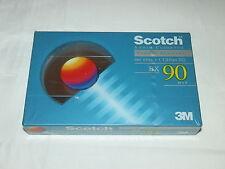Scotch C90 posición normal sellado cinta de cassette de audio BX90 3M tipo I