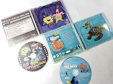 SpongeBob Nemo Lights Camera Pants PC Video Game Manuals & Cases Lot