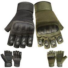 Men half finger tactical outdoor sports fingerless cycling motorbike gloves 9016