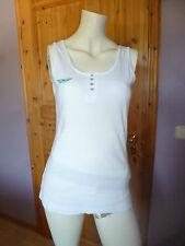 Damen Achsel-Shirt Arizona größe 40-42 Weiß NEU  Baumwolle