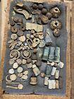 Original Civil War Relic Lot Of Fuses Shells Artillery