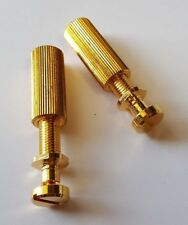 Gibson Tail Piece Studs and Anchors - Gold plated - Guitar Parts