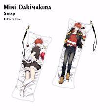 Anime Keychain Mystic Messenger 707 Luciel Choi Mini Dakimakura Phone Strap