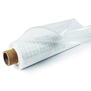 Tischdecke 2,6€/m² 0,1mm Tischfolie Schutzfolie Glasklar Transparent Tischschutz