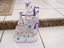 Vintage Trendmaster 1996 Wedding Cake Castle Rare w/ 3 figures, not complete