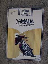 1970 - 1974 Yamaha 650 cc Twins Motorcycle Repair Manual Clymer MORE IN STORE  L