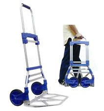 Foldable Aluminum Luggage Cart (220lb Load) - 888-032