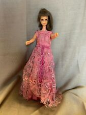 New ListingVintage 1965 Barbie Bend Leg Francie Doll And Gown