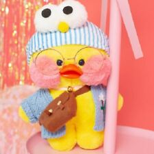 Lalafanfan Cafe Mimi Yellow Duck Costume Plush Toy Stuffed Cute Doll Cosplay