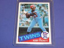 1985 Topps #536 Kirby Puckett Rookie Card RC  Minnesota Twins MLB HoF