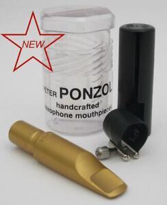 Ponzol Vintage Model Aluminum 105 Tenor Saxophone Mouthpiece